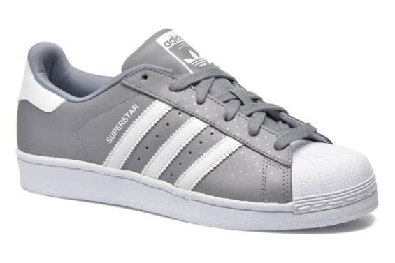 superstar adidas grise