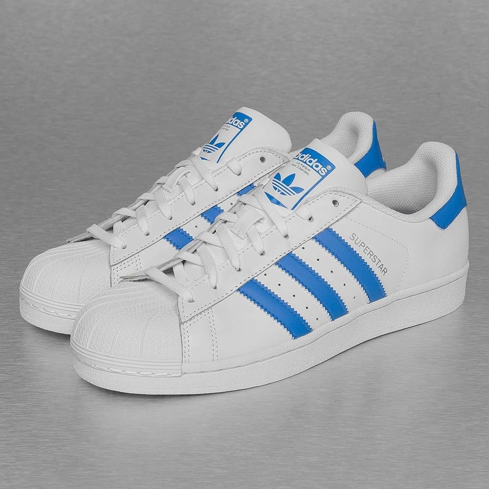adidas superstar bleu clair