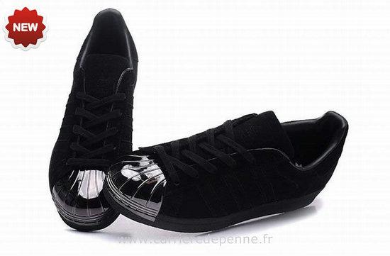 newest 0e6b0 49510 adidas superstar metal toe homme