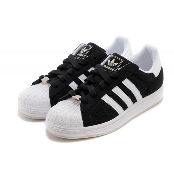 basket adidas superstar noir et blanche