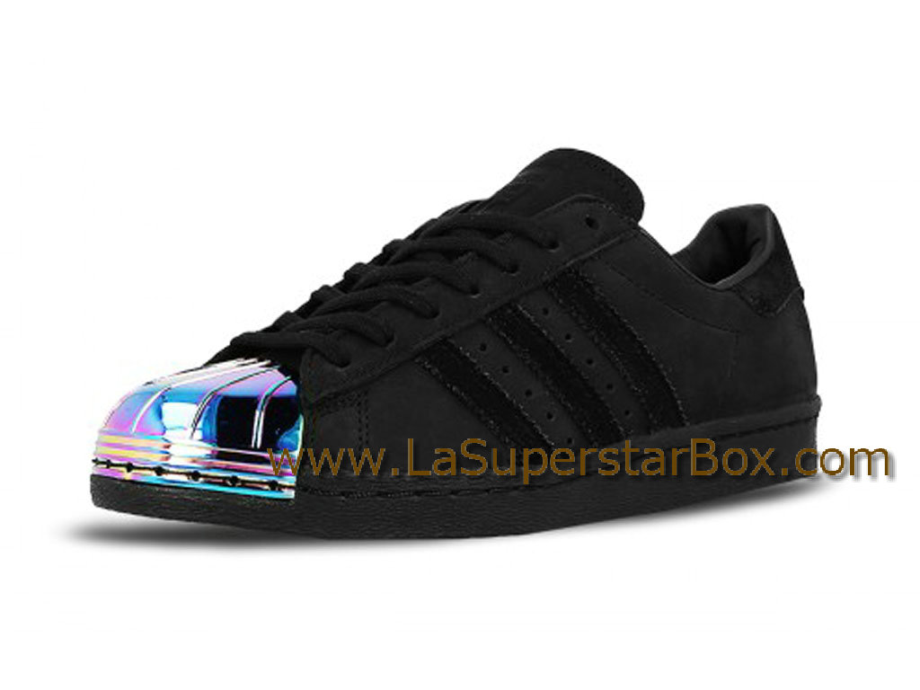 reputable site c6f5a b7540 adidas superstar noir metal homme