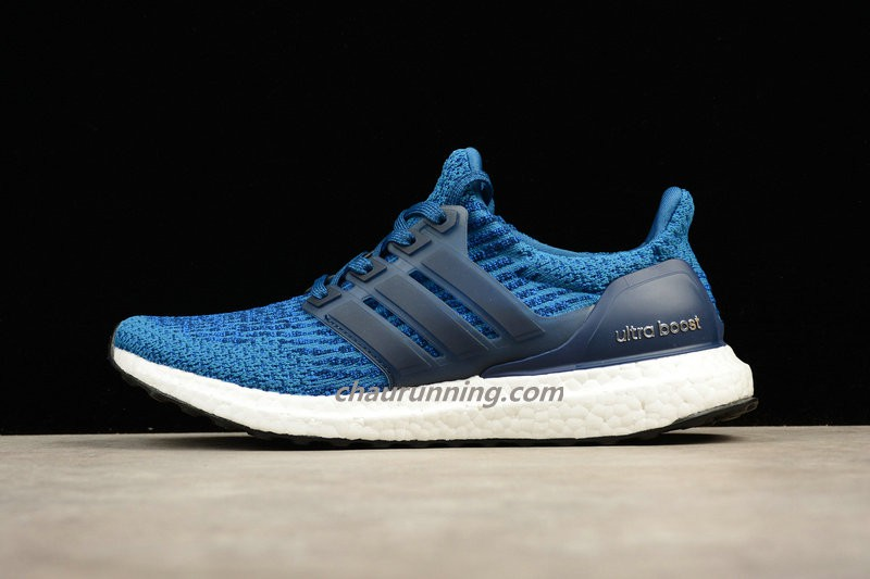 adidas ultra boost blanc and bleu
