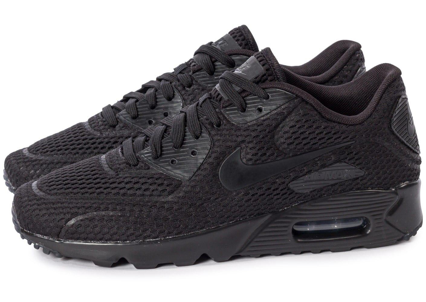 Nike Air Max 90 Ultra 2.0 Br Junior Noir: