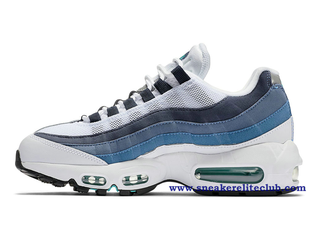 reputable site ff8d4 3d4a2 air max 95 bleu blanc femme