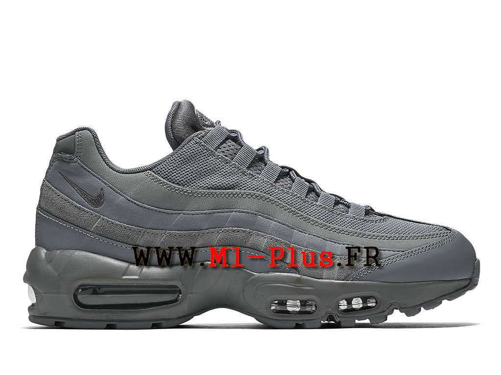 quality design b10bf fc0cf Vente en gros air max 95 gris fonce Pas cher - commulangues.be