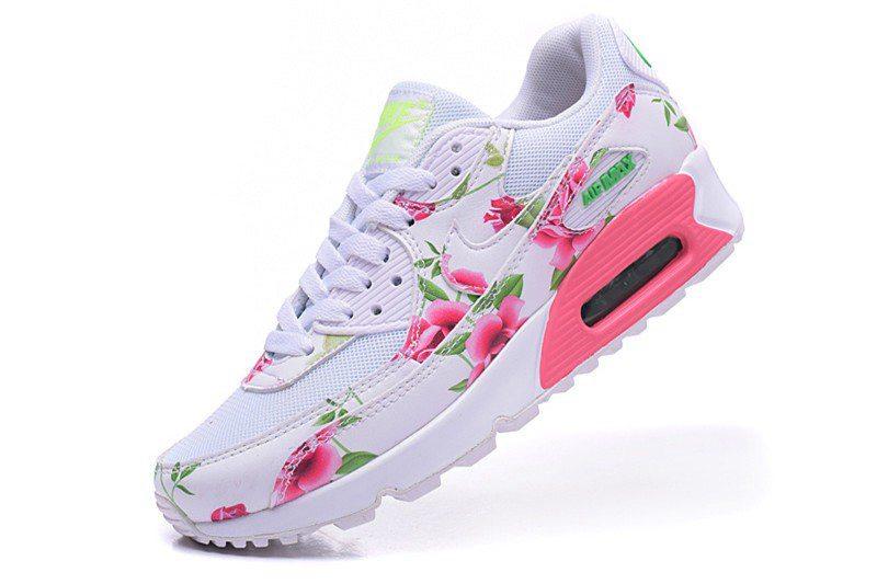Vente en gros air max rose a fleur Pas cher commulangues.be