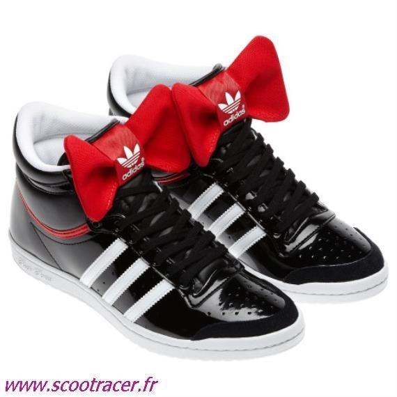 Vente en gros chaussure adidas avec noeud papillon Pas cher